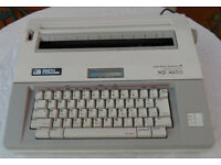 Smith Corona XD 4600 Memory Typewriter with Spell Right Dictionary