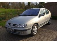 Renault Megane RT 1.6 Sport Alize, low mileage for year, 6 months MOT, excellent runner, 2 owners