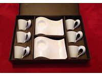 Brand New - Wave 12 Piece Coffee Set