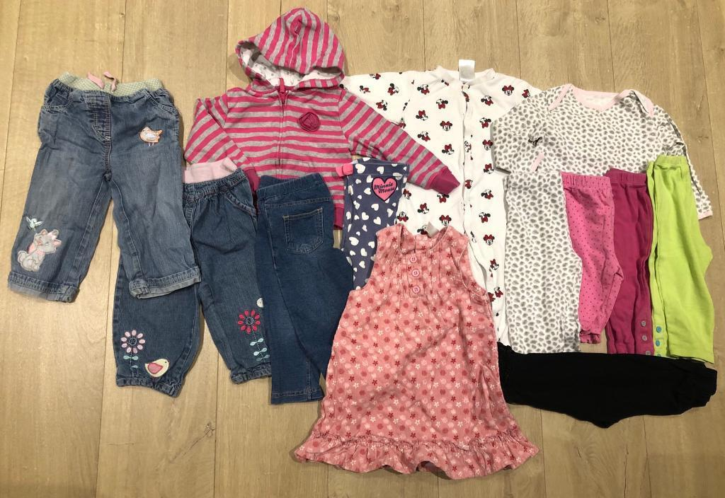 762bd0e88a40 BABY GIRL CLOTHES 9-12 Months