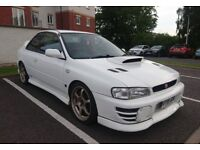 1997 Subaru Impreza WRX STI Type R V4 Japanese Import