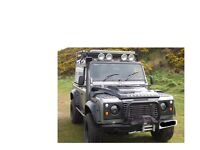 Land Rover defender 90 300tdi off road prepared ARB lockers front and rear Winches front and rear