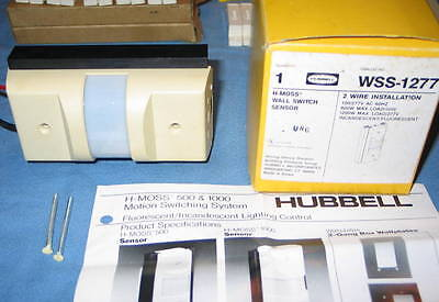 Hubbell Wss1277 Wss-1277 Beige Wall Switch Motion Switching Sensor - Nos