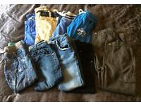 Boys trousers bundle aged 5-6 x10 pairs