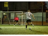 Social Football Hackney Central- 5-aside- Monday & Thursday nights 7pm - Play when you want