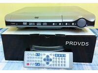 PRDVD5 Multi Region DVD Player with USB socket ( NEW ) *** BARGAIN ***