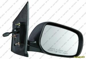 Door Mirror Manual Passenger Side Sedan Toyota Yaris 2007-2011