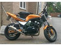 1998 Yamaha Fazer 600 - streetfighter with R1 tail end