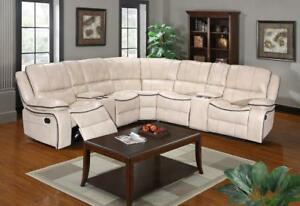 Store Wide Super SALE!! is On now@ Real Buy Furniture BRAND NEW Leather Recliner Sectional $1599