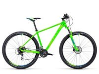 """Cube Aim SL 2015 27.5"""" Wheels Mountain Bike 20"""" Frame Very Good Condition Not 26"""" With Manuals"""