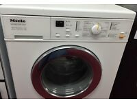 Miele novotronic german timer display new model top of range washing machine