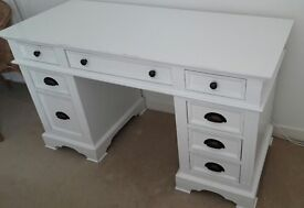 Beautiful White Wooden Desk/Dressing Table