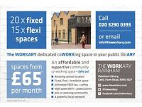 Amazing NEW Co Working space @ The Workary - Rainham, RM13 9GP | Prices from only £65 pm