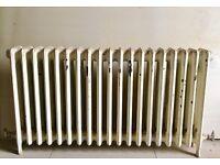 cast iron radiator. Vintage. Beautiful.