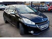 PEUGEOT 208 1.6 ALLURE E-HDI 3d 92 BHP Apply for finance Online today! (black) 2012
