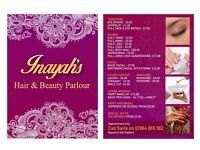 INAYAHS HAIR AND BEAUTY PARLOUR (HOMEBASED) THREADING|WAXING|FACIALS|HENNA/MEHNDI|HAIRCUTS|