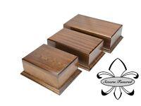 Solid Wood Pet / Cat / Dog, Cremation Urn / Casket Mahogany