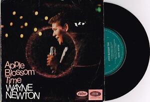 WAYNE-NEWTON-APPLE-BLOSSOM-TIME-7-45-E-P-VINYL-RECORD-w-PICT-SLV-1965