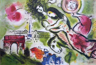 Marc Chagall ROMEO AND JULIET Litho Print Signed Numbered COA