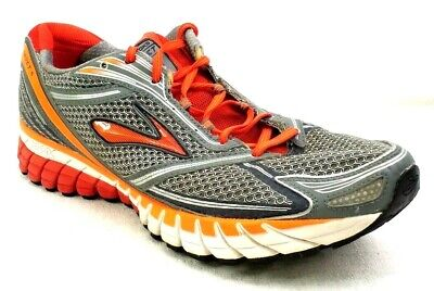 Brooks Ghost 6 Size Mens Size 14 D Running Shoes Gray Orange