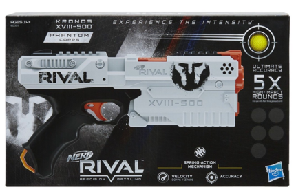 Nerf rival gear and hard to find nerf guns brand new! Latest gear