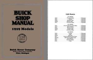 Buick-1929-Buick-Shop-Manual-1929-Models