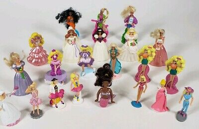Lot of 22 Barbie MCDONALD'S HAPPY MEAL TOYS 1989-1992 Brides Ballerina Aerobics