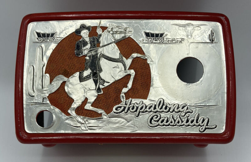 Hopalong Cassidy Arvin Radio 441T Radio Cover Christmas Gift For Dad Cover Only
