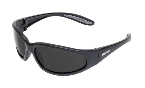 Hercules UNBREAKABLE Safety Sunglasses-SUPER DARK Lenses-NO