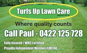 Turfs Up Lawn Care- Lawnmowing, Hedge Trimming, Pruning,.. Oatley Hurstville Area Preview