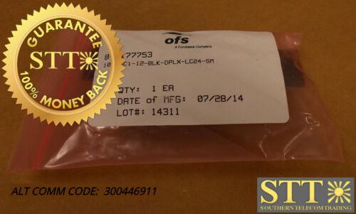 1000sc1-12-blk-dplx-lc24-sm 12-prt Sc Pnl/24 Lc Duplex Adapters Sm 300446911 New