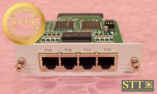 1280040l1 Adtran Quad T1 Interface Card Driuys0gta