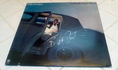 """Billy Preston signed  autographed album entitled """"A Whole New Thing""""!!!"""
