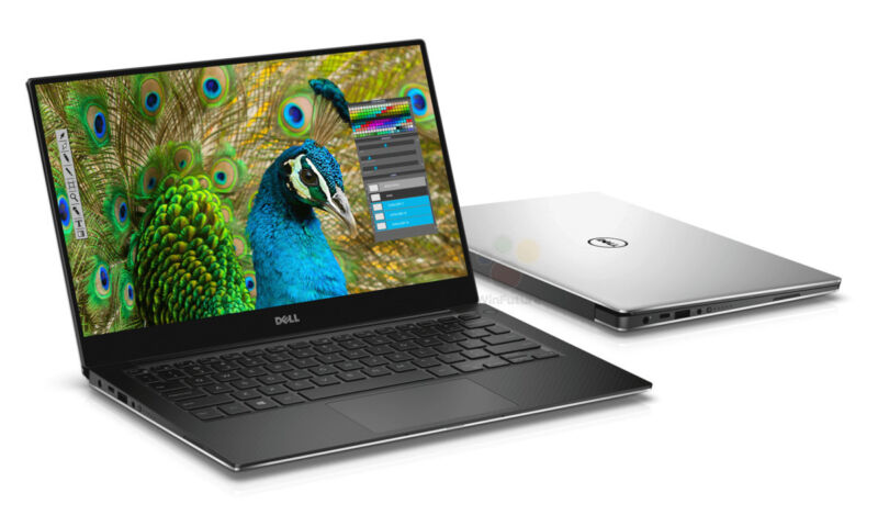 2016 Dell XPS 13 9350 13.3 i7-6500U 8GB 256GB PCIe SSD 1080p FHD INFINITY