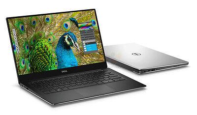 Dell Xps 13 9350 I5 6200U 8Gb 256Gb Pcie Ssd Qhd  Touch Infinity Edge W10 Silver