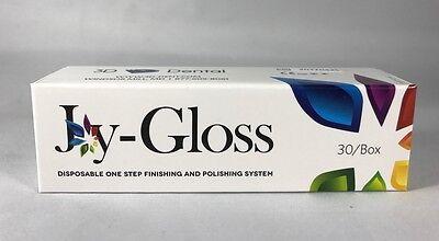 Joy-gloss Dental Disposable One Step Finishing Polishing System Cups 30box