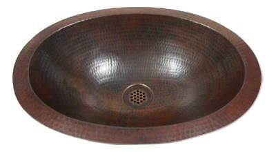 Oval Top Mount - Small Rustic 16