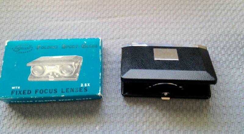 Stellar Folding Sport Glass With Focus Lenses 2.5X with Original Box