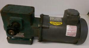 Dodge Tigear Speed Reducer Gear Box MR94766L1 1/2 HP baldor 3 phase motor