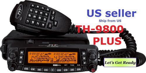 TYT TH-9800 plus 29/50/144/430 MHZ QUAD BAND TRANSCEIVER Mobile Car Radio