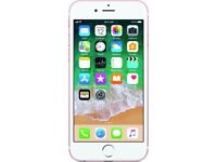 Iphone 6s, 16gb, on Vodafone, lebara, sainsbury, and talkhome network, rose gold £180 fixed price