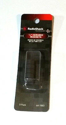 12-in Ceramic Magnets 5-pack By Radioshack 64-1883