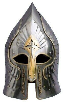 Best Creative Halloween Costumes (SCA LARP 18GA Medieval Helmet General best creative halloween costumes gift)