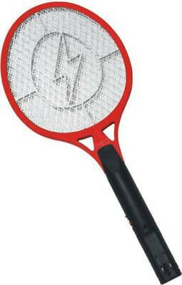 Tennis Racket Electronic Fly swatter RED- Mosquito Insect (Electronic Handheld Insect Zapper)