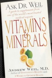 Vitamins and Minerals by Andrew T. Weil (Paperback, 1999)
