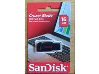 Sandisk 16GB memory stick