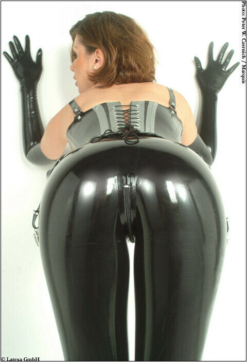 Sexy Latex Leggings / Rubber Lingerie Shiny Clothing