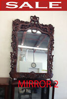 Mirrors, modern mirrors, traditional mirrors.  Home accents