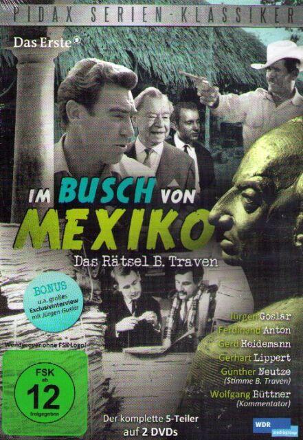 DOPPPEL-DVD NEU/OVP - Im Busch von Mexiko - Das Rätsel B. Traven - Jürgen Goslar