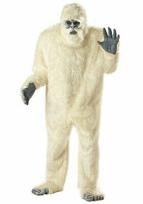 California Costumes Collections Men's Abominable Snowman Yeti Party Costume